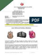 EA IN58 PCP2 2017-01 Fabrica de  Mochilas y Maletines