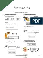 IV Bim - 1er. Año - Arit -  Guía 5 - Promedios.doc