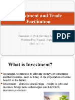 Investment and Trade Facilitation