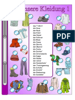 6. Klasse Kleidung 1