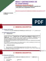 SEMANA 03-SESIÓN 01Requisitos de los proyectos de instalaciones sanitarias como parte de un E.T