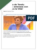 El enfado de Terelu Campos