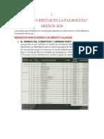 INFORME FINAL DE RENTA Y COMPRA