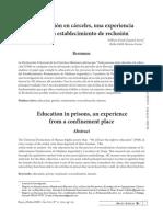 Dialnet-LaEducacionEnCarcelesUnaExperienciaDesdeUnEstablec-6628744