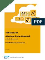 WP09 ACT CustomCode Check