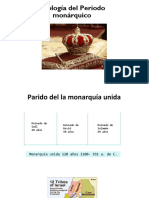 PERIODO DE LA MONARQUIA- TEOLOGÍA DEL A.T.