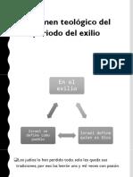 PERIODO DEL RETORNO - TEOLOGÍA DEL A.T.
