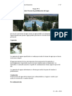 Procesos de potabilizacion agua y medio ambiente