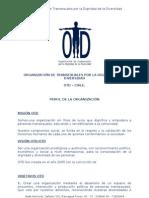 OTD- PERFIL DE LA ORGANIZACIÓN