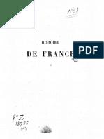 Michelet - Histoire de France - T1