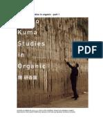kengo kuma studies in organic