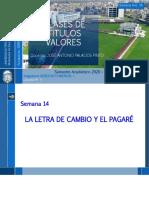 Semana 14 - Letra de Cambio Pagaré.pptx