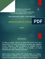 4°CLASE ADITIVOS PARA EL CONCRETO
