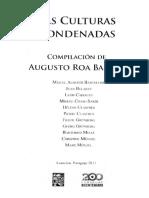 Roa Bastos Augusto comp. Las Culturas Condenadas..pdf · versión 1.pdf