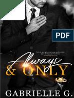 01 Always & Only - Gabrielle G.