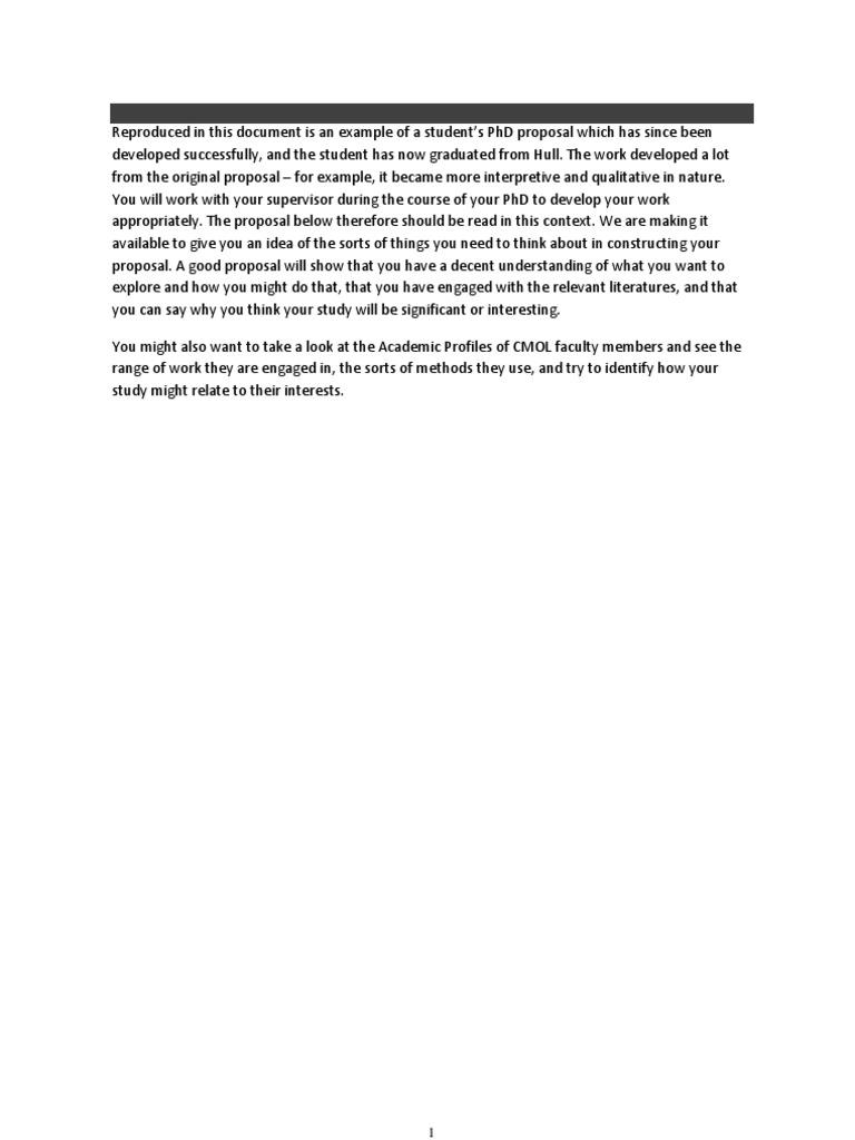 Dissertation proposal service nutrition