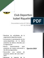 Club Deportivo IR