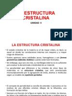 4.-U-4-LA ESTRUCTURA CRISTALINA