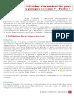 13 - PART-2 CHAPITRE-4 LECON-1 COMMENT LES INDIVIDUS S'ASSOCIENT-IL POUR CONSTITUER DES GROUPE SOCIAUX