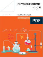 Guide Physique-Chimie 12e