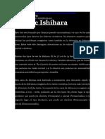 Test de Ishihara - Cartilla completa e Interpretación