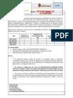 CENTRO DE SALUD SAN PABLO  informe 08.06.2020