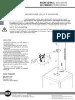 Manual de Usuario ACPMA Subwoofer