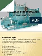 CALDERAS PIROTUBULARES PLANTAS DE VAPOR, Esc. Vac. Dic-2019 PARTE 2 ESTUDIANTES