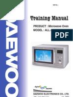 Daewoo_MicrowaveOven_Training