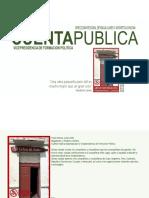 Cuenta Publica Vicepresidencia de capacitación y formación política