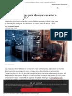 5 melhores práticas para alcançar e manter a adequação à LGPD _ CIO