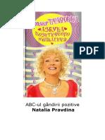 ABC-ul gândirii pozitive