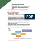 MODULO DE TÉCNICAS DE PLANEACIÓN Y CONTROL