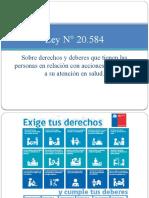 Ley N° 20584