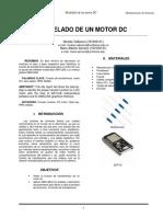 MODELADO DE UN MOTOR DC