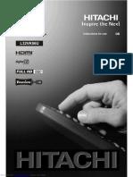 Hitachi L32VK06U Instructions