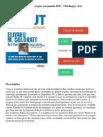 Le but _ Un processus de progrès permanent PDF - Télécharger, Lire.pdf