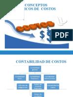 Conceptos básicos de costos