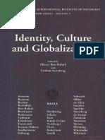 Identity- Culture and Globalization Oleh Eliezer Ben-Rafael-Yitzhak Sternberg