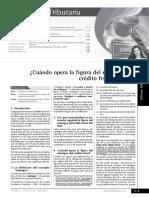 CUANDO OPERA LA FIGURA DEL REINTEGRO DEL IGV