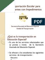 Presentacion_Transportación_Escolar Facilitador Docente