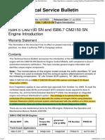 ISB 4.5 & 6.7 CM2150 SN