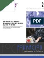 Abuso sexual infantil evluacion e intervencion clinico forense