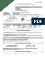 ESPUMA CLORADA FP  PT-179 - MSDS
