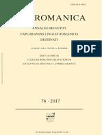 Elwys De Stefani_ Andres Kristol - Vox Romanica _ annales Helvetici explorandis linguis Romanicis destinati. 76-Narr Francke Attempto Verlag (2017).pdf