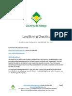 Land-Buying-Checklist