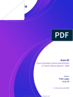 Passo Estratégico Direito Administrativo