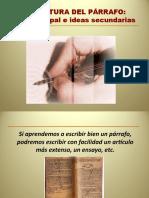 4 ESTRUCTURA DEL PÁRRAFO