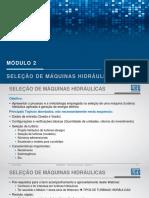 Turbinas hidráulicas - Modulo 2/5 - Seleção de Máquinas Hidráulicas