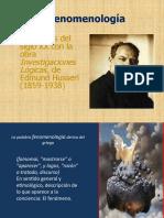 4. La filosofia contemporánea- Fenomenologia, vitalismo